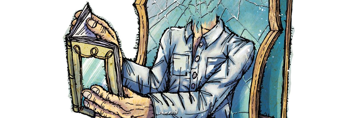 Miroir, miroir : entretien  avec  Patrick Boutin  par  Eric d'Antimo